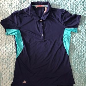 Ladies Adidas Small Golf Shirt